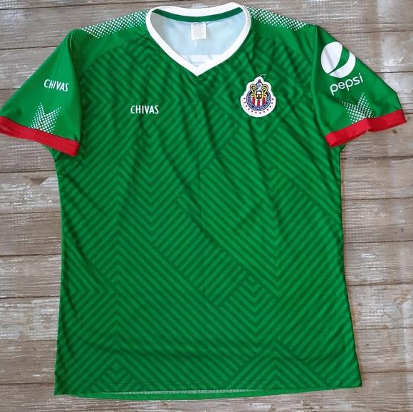 quality design b1fb0 92229 Chivas soccer club Jersey size large
